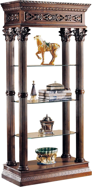 Design Toscano Broadgate Grand Our shop most popular Shelves Case Presentation Genuine Display