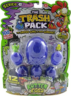 Moose The Trash Pack Series 6 Rotten Eggs: 12 Pack