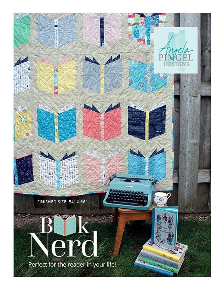 Angela Pingel Designs- Book Nerd Quilt Pattern, Finished size 54