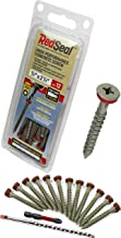 Concrete Screw – Red Seal Moisture Barrier High Performance – Flat Head..