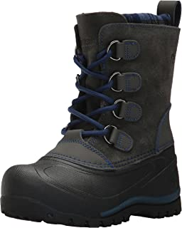 Northside Unisex Back Country Snow Boot Charcoal/Navy Size 12 Medium US Little Kid