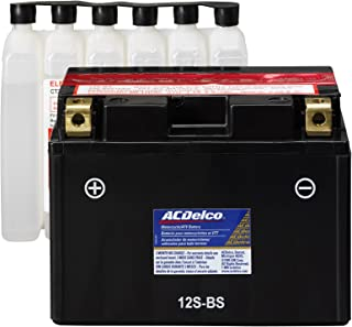 ACDelco ATZ12SBS Specialty AGM Powersports JIS 12S-BS Battery