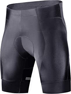 Hiauspor Mens-Cycling-Bicycle-Bike-Shorts-Padded