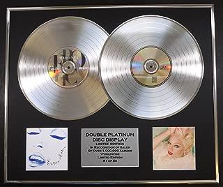 MADONNA/DOUBLE CD PLATINUM RECORD DISPLAY/LTD. EDITION/COA/EROTICA & BEDTIME STORIES