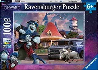 Ravensburger 12928 Disney Onward-100pc Jigsaw Puzzle with Extra Large Kids Age 6 Years & up-Every Unique, Pieces fit Toget...