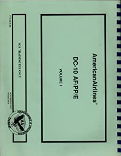 DC-10 AF/PP/E Volume I Maintenance and Engineering Training Manual 1991