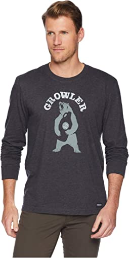 Growler Long Sleeve Crusher T-Shirt