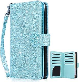 501fecc15a Dailylux Galaxy S8 Case,Galaxy S8 Wallet Case,Premium PU Leather Flip  Credit Card