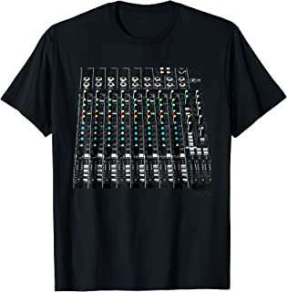 Sound Audio Engineer Mixing Board T-Shirt
