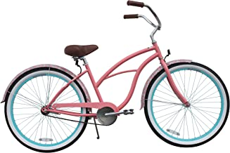 sixthreezero Women's Beach Cruiser Bicycle, 26