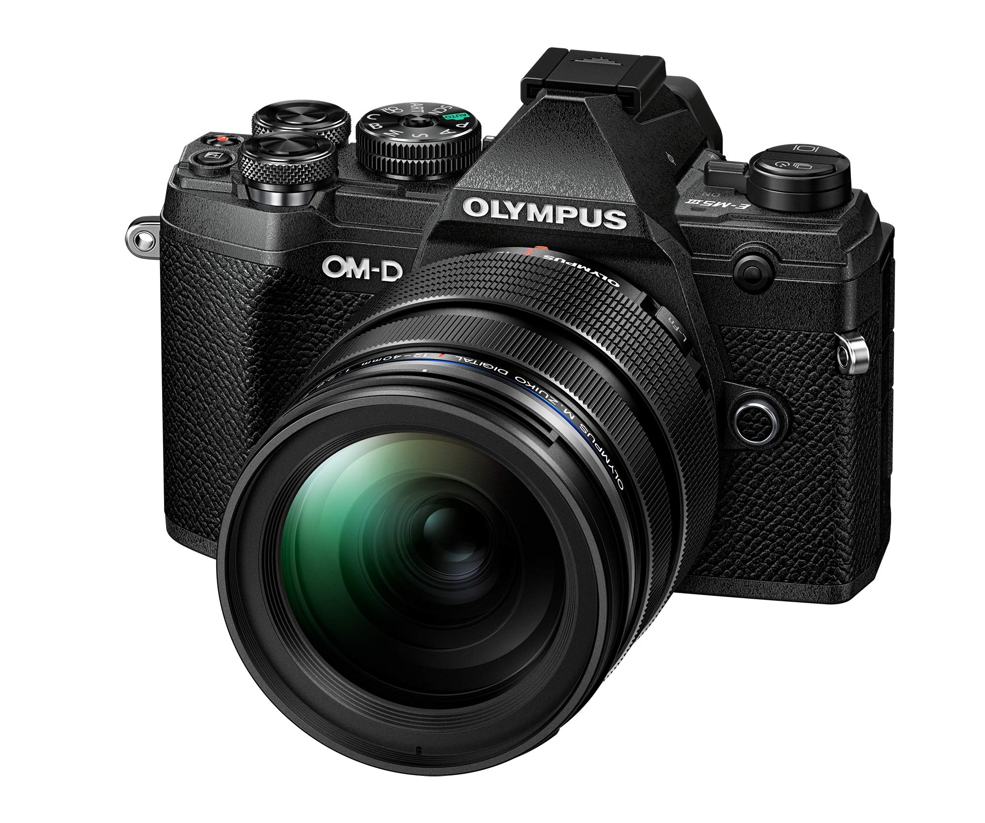 Olympus OM-D E-M5 - Mark III Micro Four Thirds System Camera Kit ...