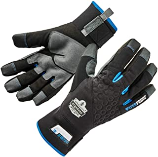 Ergodyne ProFlex 817WP Waterproof Work Gloves, Thermal Insulated, Touchscreen, Reinforced Palms