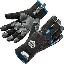 Ergodyne ProFlex 817WP Waterproof Work Gloves, Thermal Insulated, Touchscreen, Reinforced Palms