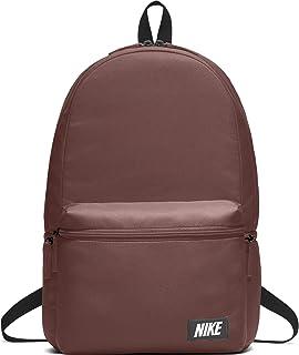 Nike Sportswear Heritage Backpack, Red Sepia/Black/Orange Blaze, One Size