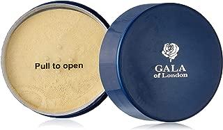 Gala of London Pearl Face Powder, Ivory, 40g