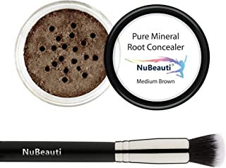 Pure Mineral Shades Root Concealer - Touch Up Kit with Brush - All Natural - Fast - Easy - Instant - Temporary Magic Powde...