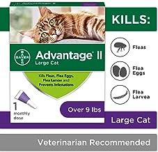 Flea Prevention for Cats, 5-9 lb, 1 dose, Advantage II