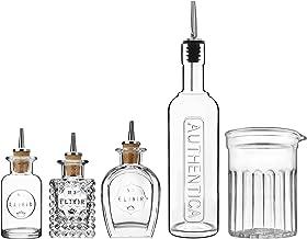 Luigi Bormioli Mixology Mixed Crystal Barware 5 Pieces Set, Transparent, 12324/01