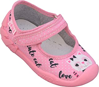 ARS Botas para Niñas Zapatillas Estar por casa per Nina Zapatos Bebe Niña Plantilla de Cuero Primeros Pasos 20 21 22 23 24 25