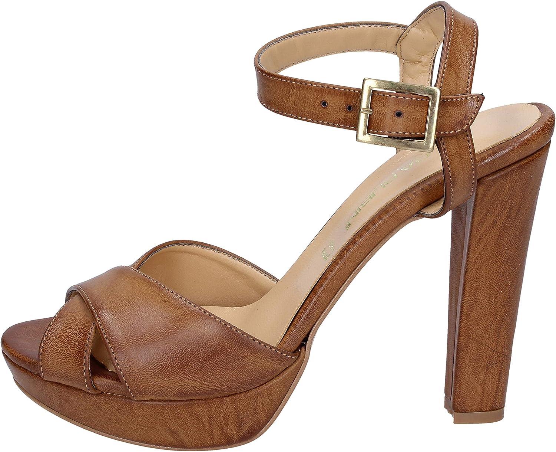OLGA RUBINI Sandals Womens Brown