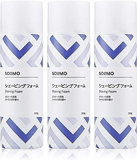[Amazonブランド] SOLIMO (ソリモ) シェービングフォーム 200g × 3本パック