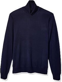 Amazon Brand - Goodthreads Men's Lightweight Merino Wool/Acrylic Turtleneck Sweater