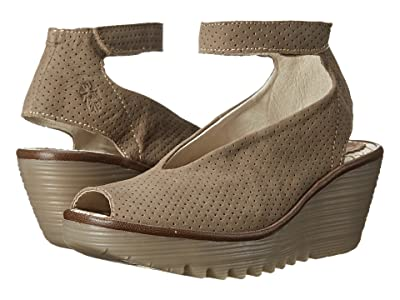 FLY LONDON Yala Perf (Khaki Cupido/Mousse) Women