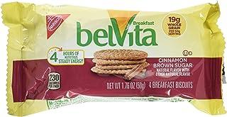 Nabisco Belvita Cinnamon Brown Sugar Breakfast Biscuits, 1.76 Ounce Each, 5 Pack