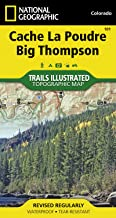 Cache La Poudre, Big Thompson Colorado, USA (National Geographic Maps: Trails Illustrated)