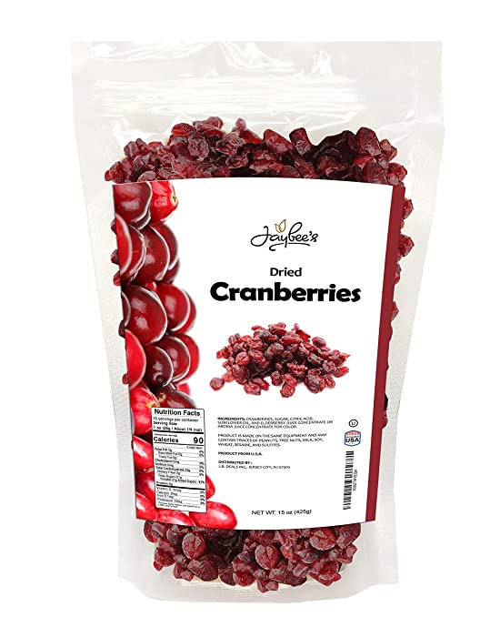 Updated 2021 – Top 10 Dried Cranberries Apple Juice Sweetened