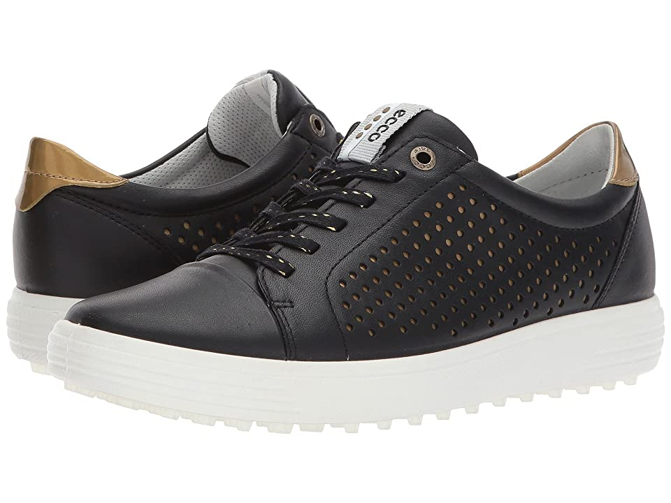 ECCO Golf Casual Hybrid 2 Perf (Black) Women