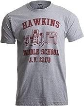 Hawkins Middle School A.V. Club | Vintage Style 80s Costume AV Hawkin T-Shirt