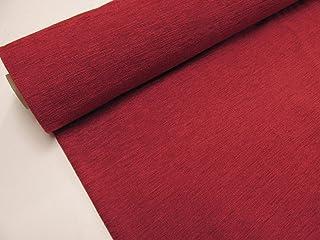 Confección Saymi Metraje 0,50 MTS. Tejido Chenilla Color Rojo con Ancho 2,80 MTS.