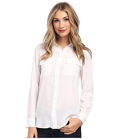 2c39cf6c979d3c EQUIPMENT Slim Signature Blouse at Zappos.com
