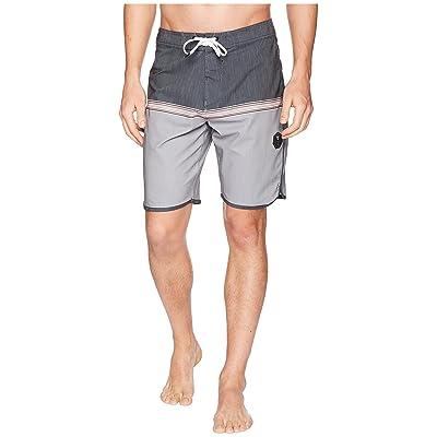 VISSLA Dredges Four-Way Stretch Boardshorts 20 (Steel) Men