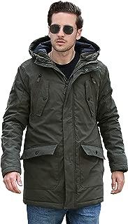 2019 Men Parka, Warm Insulated Parka, Men Winter Jacket, Waterproof Down Parka Coat