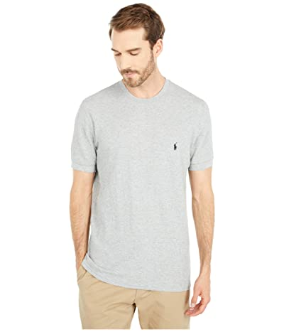 Polo Ralph Lauren Waffle Short Sleeve Crew (Andover Heather/Polo Black Pony Player) Men