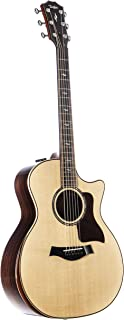 Taylor 814ce V-Class Grand Auditorium Deluxe Cutaway - Natural Sitka Spruce Top