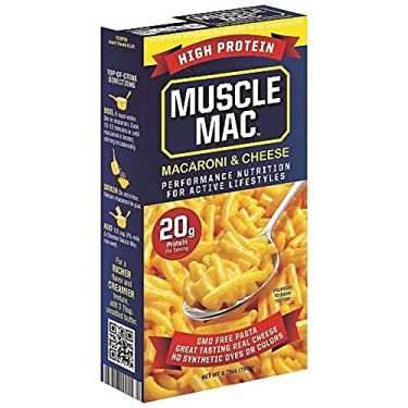 High Protein Macaroni Cheese (2 Servings)