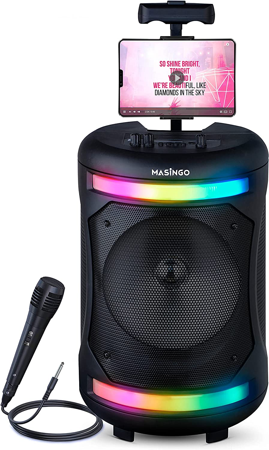Bluetooth Karaoke Machine for Adults Albuquerque Mall Portable Singing and Recommendation - Kids