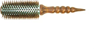 SSEN Brush/Natural Boar Bristle Brush with Electroplated Metal Plate
