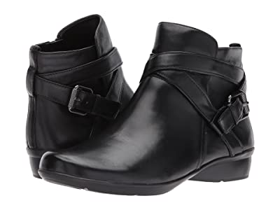 Naturalizer Cassandra (Black Leather) Women