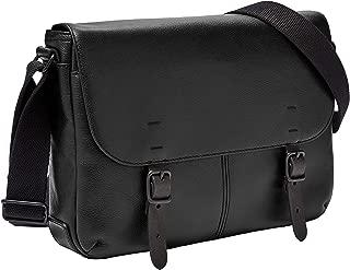 Fossil Messenger Bag, 13.4'' L x 3.94'' W x 10.25'' H, Black
