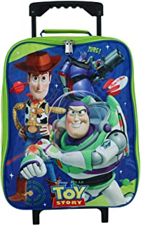 "Disney Pixar Toy Story 15"" Collapsible Wheeled Pilot Case - Rolling Luggage"