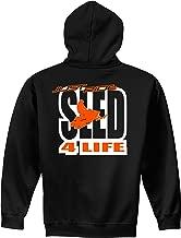 Just Ride Sled 4 Life Hoodie Sweatshirt Black