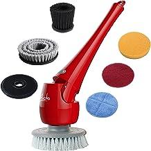 ELICTO ES-100 Electric Scrubber- Cordless Bathroom Scrubber- Multi-Purpose Head Power Scrubber for All Surfaces- Electric ...