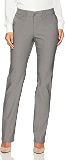 Lee Women's Petite Motion Series Eden Career Straight Leg Pant