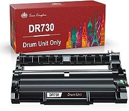 تعویض واحد درام سازگار با Toner Kingdom برای برادر DR730 DR760 درام برای MFC-L2710DW L2730DW L2750DW HL-L2370DW HL-L2370DWXL DCP-L2550DW DR-730 DR-760 (سیاه ، 1 بسته)
