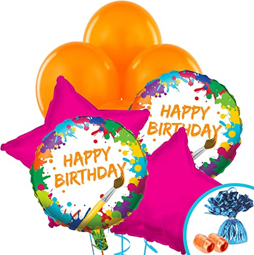 Art Party Supplies - Balloon Bouquet by BirthdayExpress