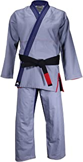 Stars and Stripes Limited Edition Pearl Weave Gi - Navy/Red